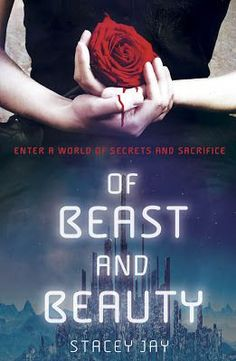 YA Book Review: Of Beast and Beauty by Stacey Jay - Beauty and the Beast is my favorite fairy tale and as soon as I finished this book, I went on Amazon and ordered a copy for myself so I can read it again whenever. Plus the cover is awesome! I couldn't have thought of a more perfect ending to this book. Recommended for readers who enjoy reading books with Dystopia, Fairy Tales, Fantasy, Retellings, Romance, Science Fiction, Young Adult - 5 Stars - Click through to read the full review!