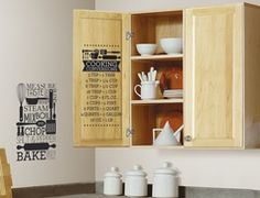 Groupon - Cooking Coversions Peel & Stick Wall Decals in [missing {{location}} value]. Groupon deal price: $15.99