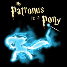 Pony Patronus at Tee Globe - Only good for another 22 hours and 43 minutes!