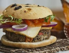 Try these black bean burgers. With just four ingredients, you won't find an easier vegetarian and vegan veggie burger recipe anywhere.