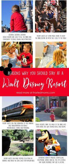 Disney World Resorts, Disney World Vacation planning, Disney World hotels, Disney World tips, Disney World Theme Parks -- 10 Reasons you should stay at a Walt Disney World Resort via frostedMOMS.com @frostedevents