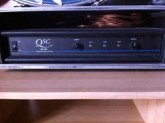 400 Watts Amplifier / Verstäker / Endstufe Including - Inkl. - incluindo --> Flyer Case - Case - caixa de proteção para viagem inclusive. +41(0)76 344 24 75