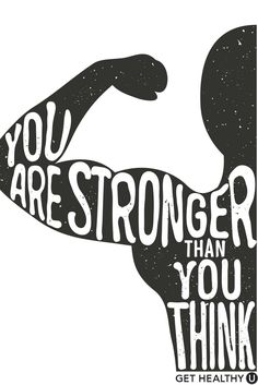 It's true- YOU ARE! Check out Get Healthy U for fitness inspiration, healthy lifestyle advice, calorie-burning workouts, delicious recipes and start your health journey! Staying inspired is a super essential part of every journey toward a healthy lifestyle, and we're here to provide it for you!