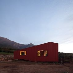 WA House by MAPA references colonial-style Chilean residences
