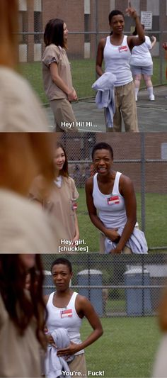 Me at gatherings. Poussey is me when it comes to people-ing.