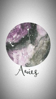 Arte Aries, Aries Art, Aries Astrology, Aries Sign, Zodiac Signs Aries, Zodiac Star Signs, Aries Wallpaper, Wallpaper Qoutes, Cute Wallpaper Backgrounds