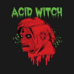 Shop Witch- Acid Witch witch hoodies designed by Viraldesigns as well as other witch merchandise at TeePublic. Heavy Metal Art, Heavy Metal Bands, Metal Drawing, Cholo Art, Stoner Rock, Horror Artwork, Gothic Metal, Heavy Rock, Aesthetic People