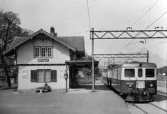 Station Bönigen. 1962