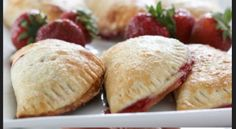 Enjoy Some Of The Best Homemade Strawberry Empanadas You'll Ever Have.