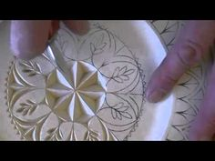 Chip Carving a Rosette