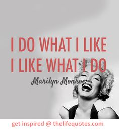 Inspirational Marilyn Monroe Quotes
