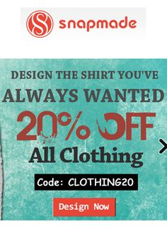 Snapmade Coupon Codes: Get 20% Off On All Clothing!