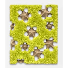 "Donald Moffett. ""Lot 112015 (spore fall, chartreuse)"", 2015."