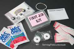 idea for Girl Scouts: Homemade First Aid Kits