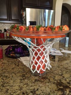 Basketball Dessert stehen Basketball Dessert stehen Bake Decorate Repeat | Klaud...