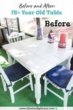 Diy Furniture Flip, Stripping Furniture, Thrift Store Furniture, Furniture Makeover, Paint Stripper, Home Projects, Garden Projects, Butterfly House, Diy Table