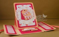 I fell in love with this new card fold when viewing it by Jacqueline Kruining. I did not have...
