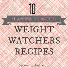 I can probably live without the tuna burger but most of these look pretty promising.  Becoming Martha: 10 Taste-Tested Weight Watchers Recipes Healthy Cooking, Healthy Snacks, Healthy Eating, Healthy Recipes, Clean Eating, Light Recipes, Ww Recipes, Skinny Recipes, Cooking Recipes