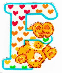❤️Care Bears and Friends ~ The Letter F