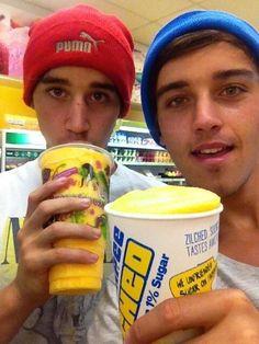 Luke and Beau