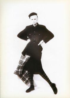 Peter Lindbergh for COMME des GARÇONS, 1986