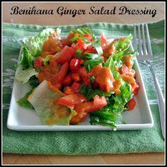 Mom, What's For Dinner?: Benihana Ginger Salad Dressing