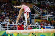 Laurie Hernandez (USA) 2016 Olympic Games: Team Final (x) Gymnastics Facts, Gymnastics Images, Gymnastics Quotes, Artistic Gymnastics, Gymnastics Girls, Rio Olympic Games, Olympic Team, Laurie Hernandez, Usa 2016