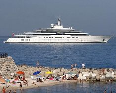 Roman Abramovich's 1.2 billion 557-foot Eclipse Mega-Yacht