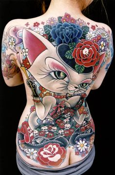 100+ Examples of Cute Cat Tattoo