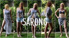 8 ways how to tie a sarong