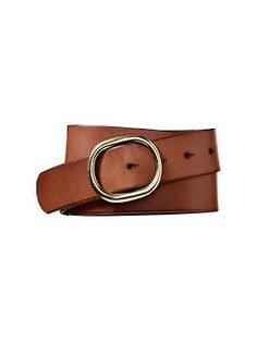 Round buckle stud belt from the Gap