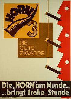 """design-is-fine: """" PSY, Poster for the good Horn Cigar Switzerland. Via plakatkontor """""""