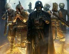 chasseurs de primes convoqués par Darth Vader Darth Vader Star Wars, Lego Star Wars, Stars Wallpaper, Wallpaper Free, Wallpaper Desktop, Wallpapers, Mobile Wallpaper, Boba Fett, Chasseur De Primes