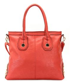 Take a look at this Fuchsia Hannah Shoulder Bag by Robert Matthew on #zulily today!