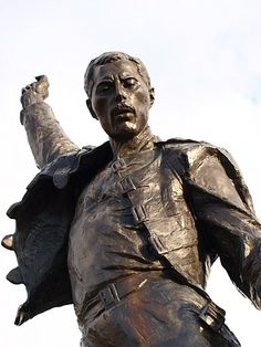 Freddie Mercury statue.  I can't wait to see and touch this statue!