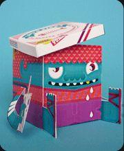 Click Thumbnail, Save or Print  « FREE FOLDABLE PAPERTOYS | LouLou & Tummie