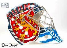 Kari Lehtonen Olympic Goalie Mask-1
