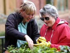 Gardening for the visually impaired.