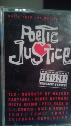 Poetic Justice Soundtrack on Cassette Tape Dogg Pound Tupac Stevie Wonder TLC and many more