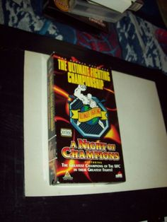 Ultimate Fighting Championship - A Night of Champions (VHS, 1999) UFC
