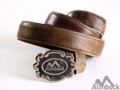 http://www.trachten24.eu/Trachten-Guertel-Almbock-antik-braun - Trachten Gürtel Almbock antik (braun) - Bavarian belt Almbock belt antique (brown)