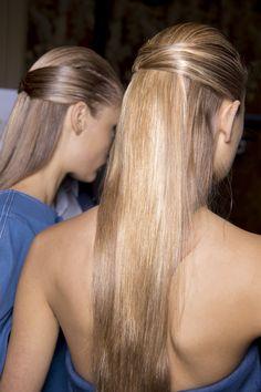 Sleek, Straight Hair - HarpersBAZAAR.com