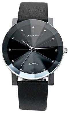 Cucol(クコル) ファション 腕時計 メンズ レザーバンド アナログ ファッション フォーマル