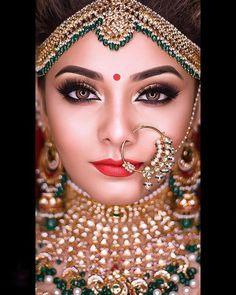 Simple Bridal Makeup, Summer Wedding Makeup, Dramatic Wedding Makeup, Wedding Makeup For Brunettes, Indian Wedding Makeup, Natural Wedding Makeup, Wedding Makeup Looks, Indian Makeup, Pakistani Bridal Makeup Hairstyles