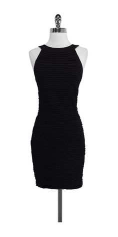 Chanel black tiered sleeveless dress. Love love LOVE!