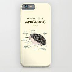 Anatomy of a Hedgehog iPhone & iPod Case