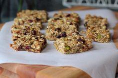 Soft Baked Oatmeal Bars - make with coconut/almond/hazelnut milk
