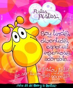 Vera © ZEA www.tarjetaszea.com Amigo Secreto Frases 733b7970068