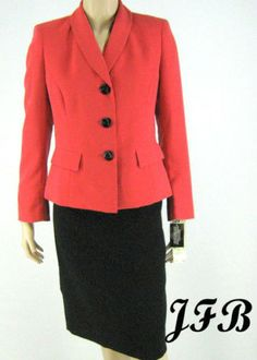 Gorgeous Suit for the Career woman.  New with tags and we have it for $62.99.  See at www.justfashionsboutique.com