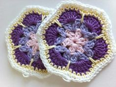 Granny Square African Flower video tutorial